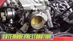 Mustang BBK Throttle Body Installation - Fox Body